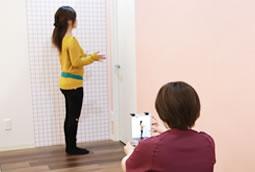 神戸市西区 笑み美容整体院のダイエット施術風景1