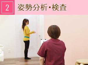 神戸市西区玉津・笑み美容整体院の美脚・美尻・姿勢矯正施術の流れ2