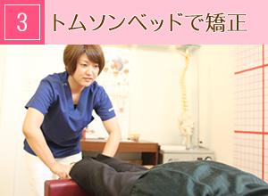 神戸市西区玉津・笑み美容整体院の美脚・美尻・姿勢矯正施術の流れ3