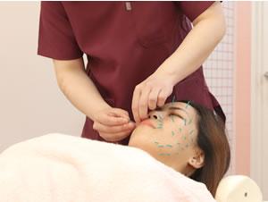 神戸市西区 笑み美容整体院の美白・美肌施術